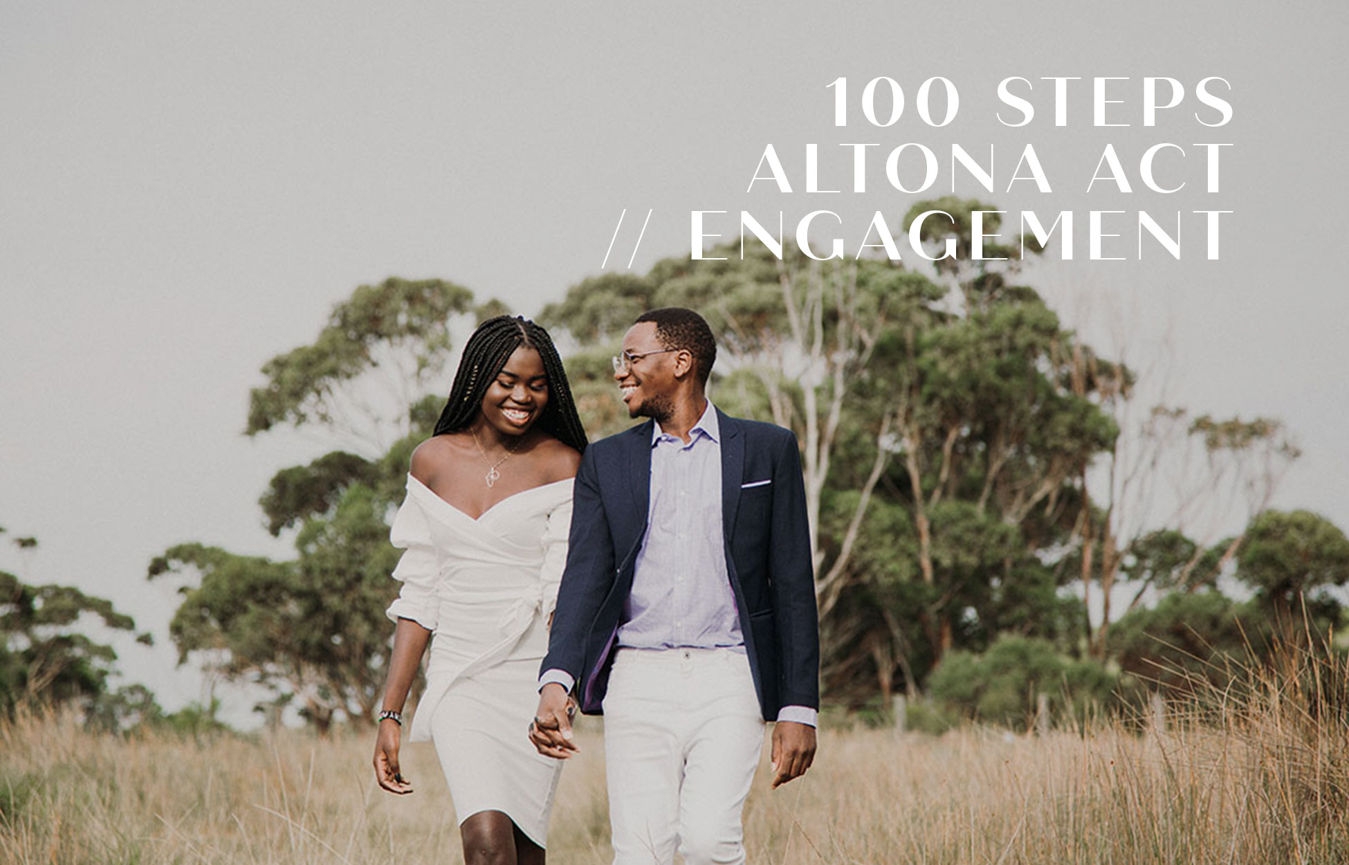Engagement photography 100 steps Altona VIC Neil Hole Photography