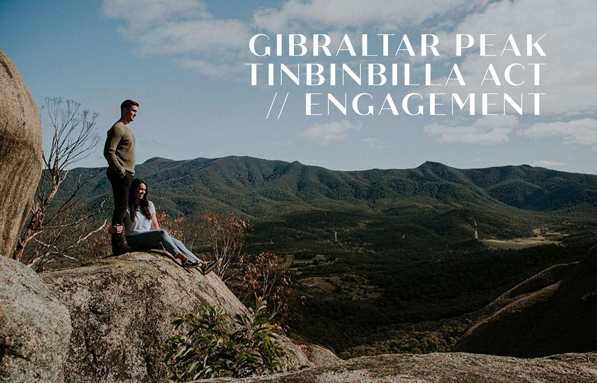 Engagement photography Gibraltar Peak Tinbinbilla Canberra ACT Neil Hole Photography