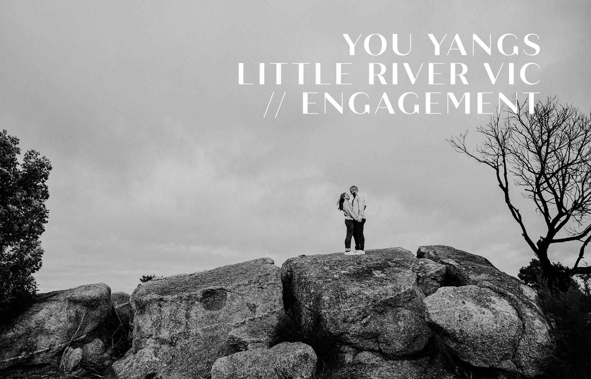 Neil Hole Photography Engagement Photography You Yangs Regional Park VIC